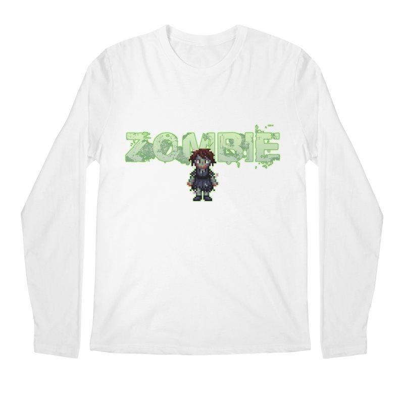 Zombie Sprite 2 Men's Regular Longsleeve T-Shirt by lil merch