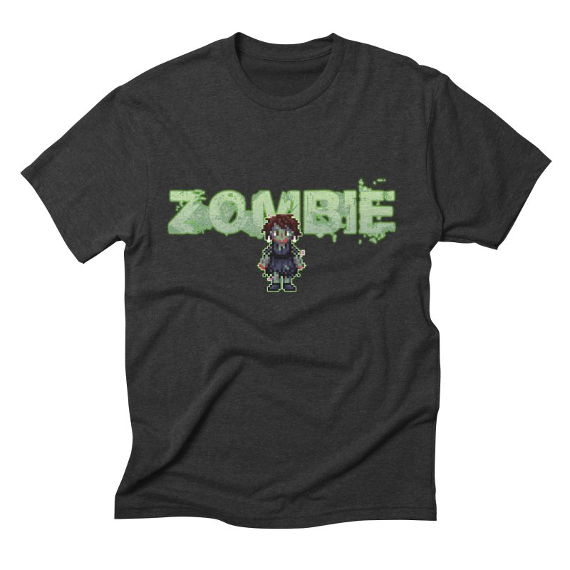 Zombie Sprite 2 Men's Triblend T-Shirt by lil merch