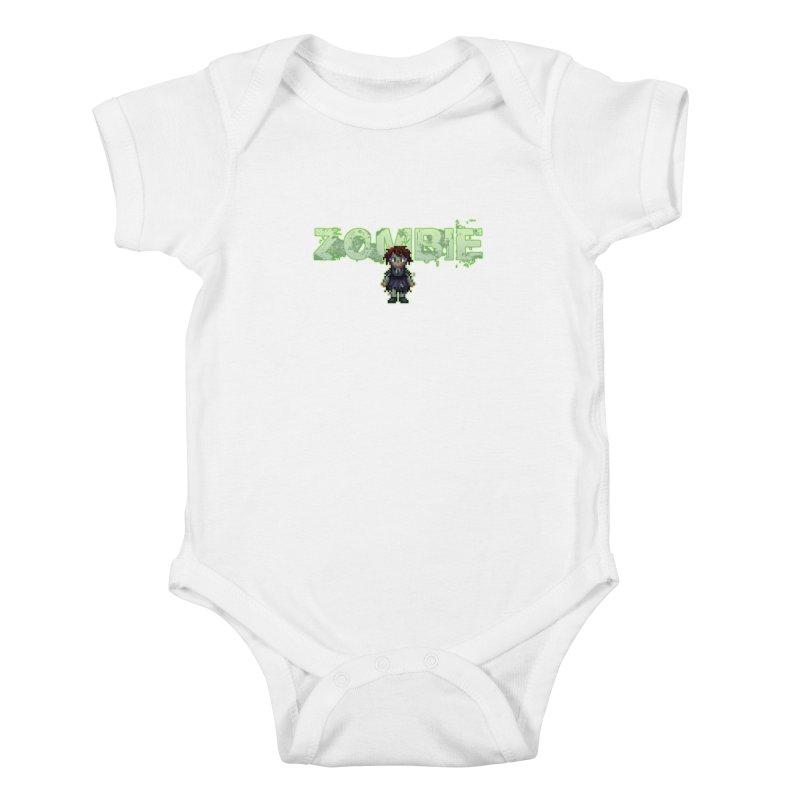 Zombie Sprite 2 Kids Baby Bodysuit by lil merch