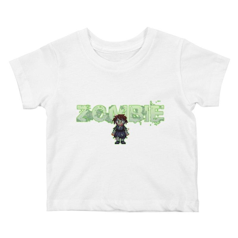 Zombie Sprite 2 Kids Baby T-Shirt by lil merch