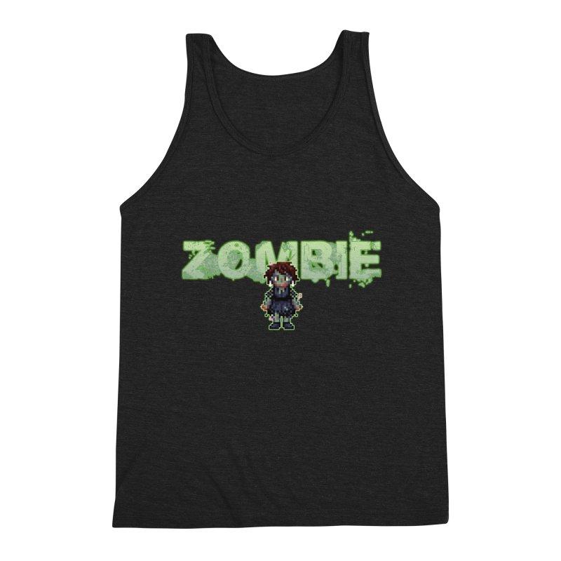 Zombie Sprite 2 Men's Triblend Tank by lil merch