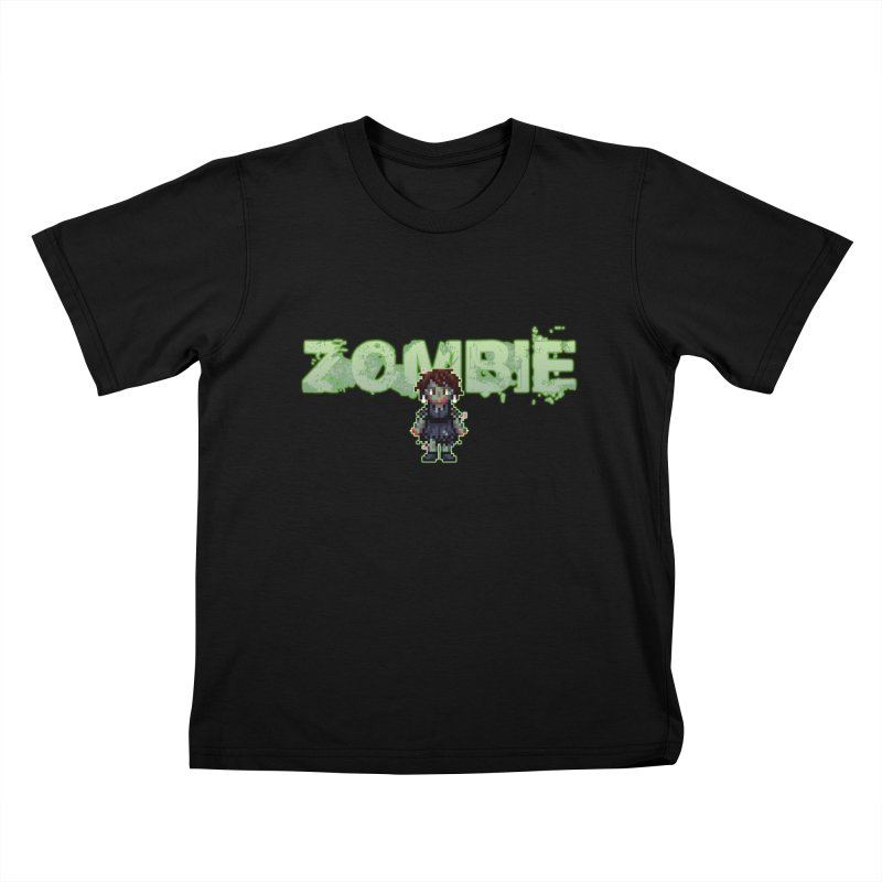 Zombie Sprite 2 Kids T-Shirt by lil merch