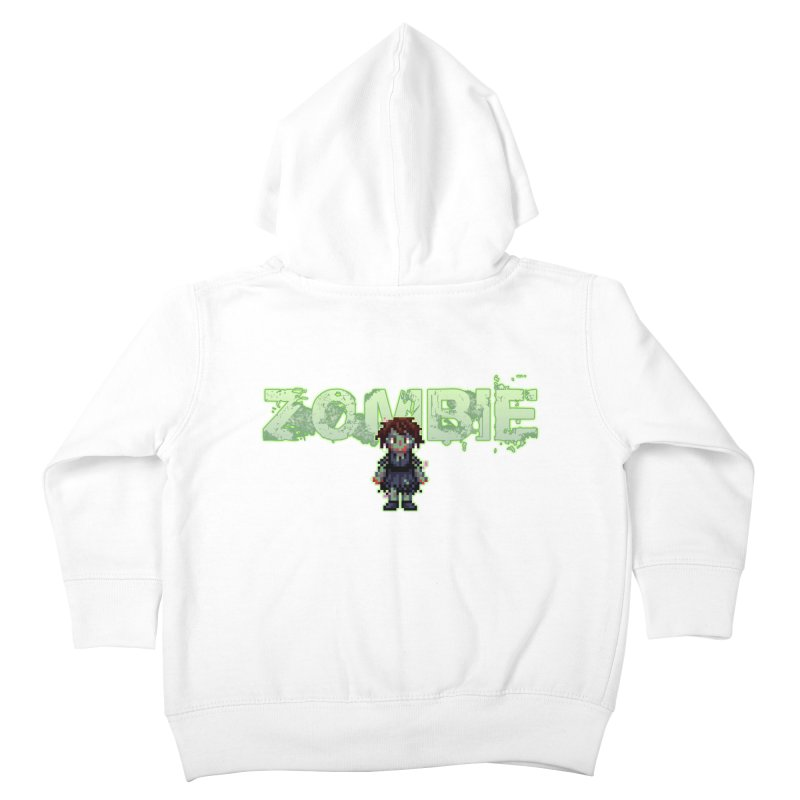 Zombie Sprite 2 Kids Toddler Zip-Up Hoody by lil merch