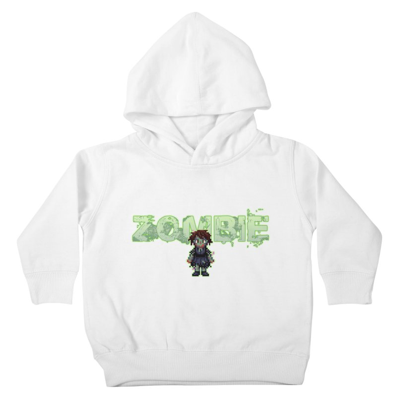 Zombie Sprite 2 Kids Toddler Pullover Hoody by lil merch
