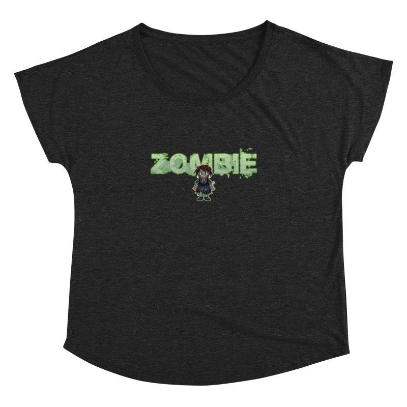 Zombie Sprite 2 Women's Dolman Scoop Neck by lil merch