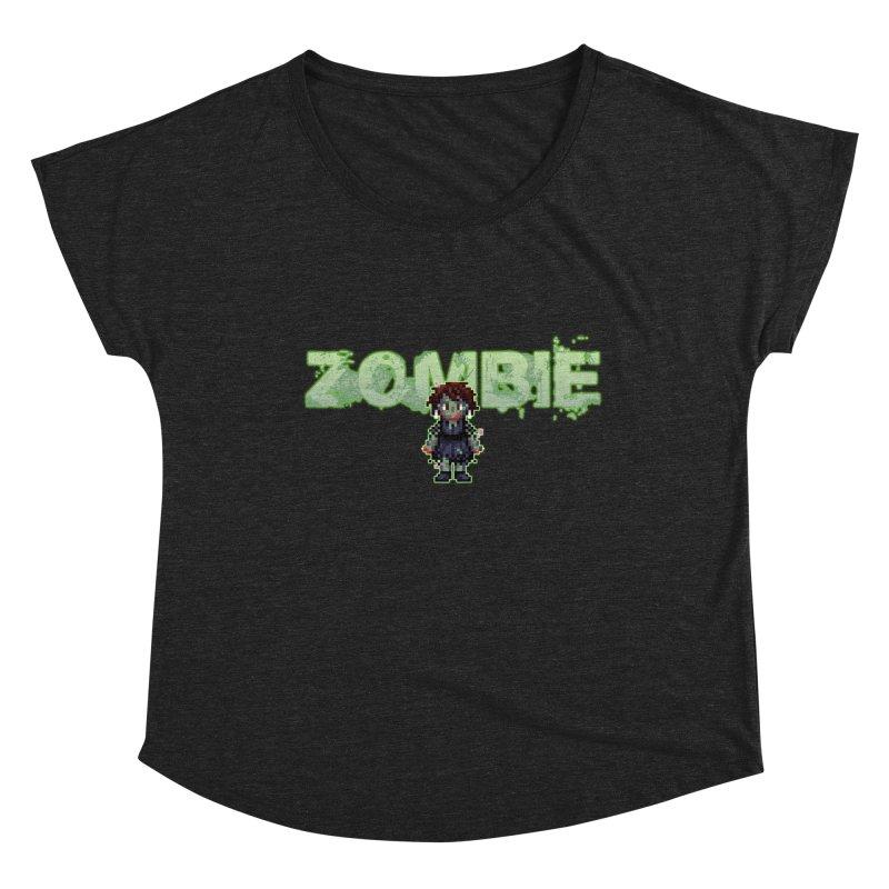 Zombie Sprite 2 Women's Scoop Neck by lil merch