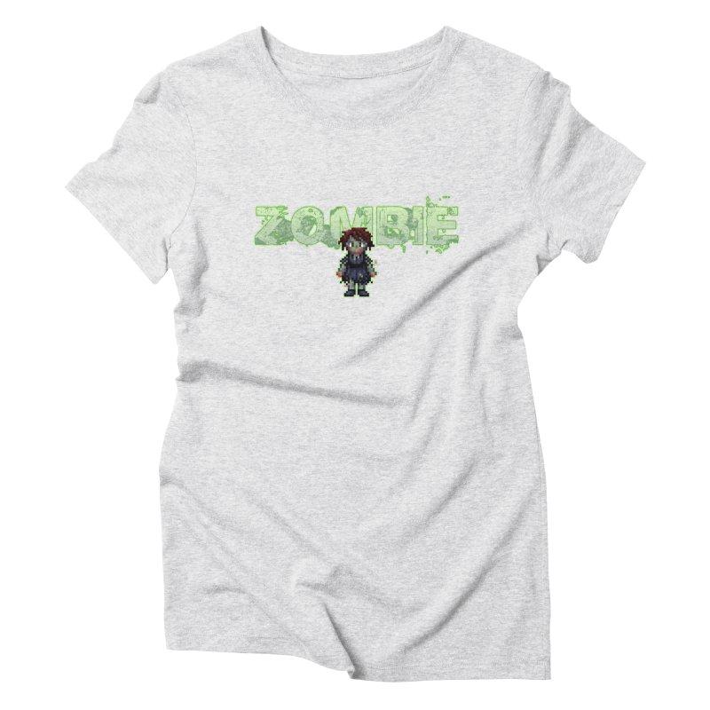 Zombie Sprite 2 Women's Triblend T-Shirt by lil merch