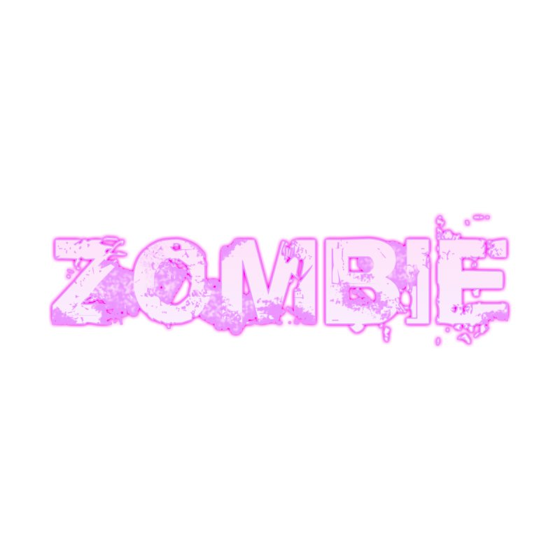 Zombie Type Men's T-Shirt by lil merch