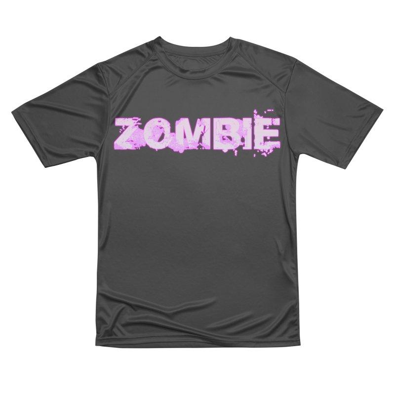 Zombie Type Women's Performance Unisex T-Shirt by lil merch