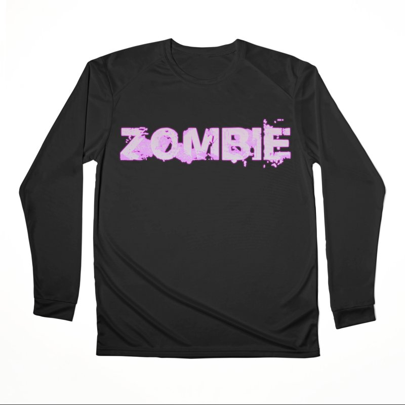 Zombie Type Men's Performance Longsleeve T-Shirt by lil merch
