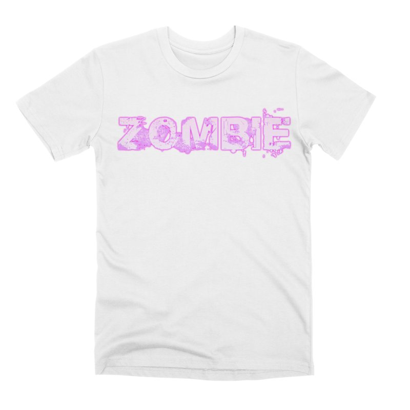 Zombie Type Men's Premium T-Shirt by lil merch
