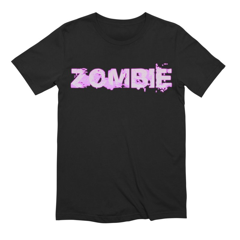 Zombie Type Men's Extra Soft T-Shirt by lil merch