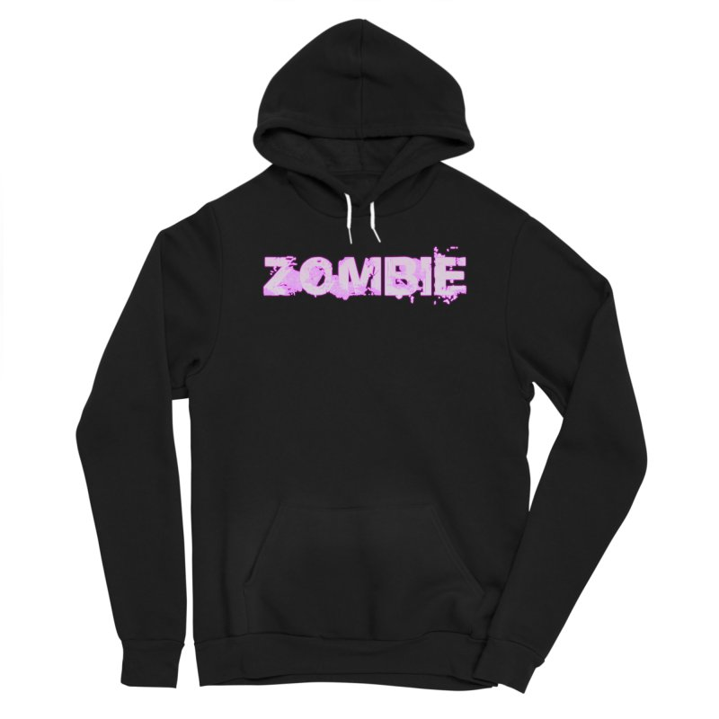 Zombie Type Women's Sponge Fleece Pullover Hoody by lil merch