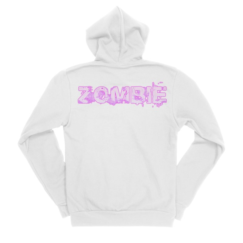 Zombie Type Women's Zip-Up Hoody by lil merch