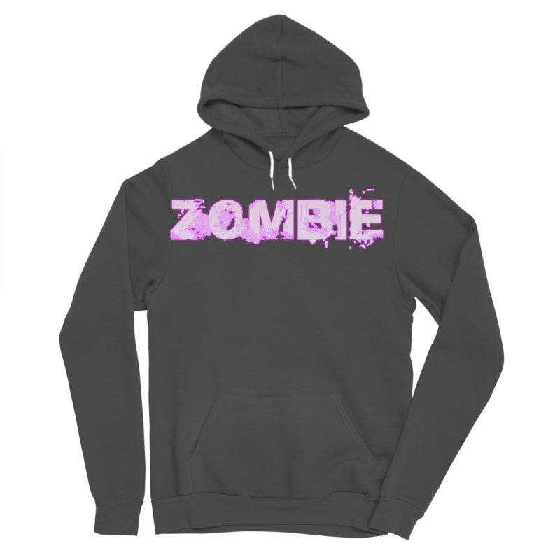 Zombie Type Men's Sponge Fleece Pullover Hoody by lil merch