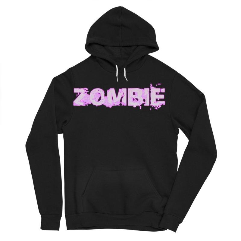 Zombie Type Women's Sponge Fleece Pullover Hoody by lil merch