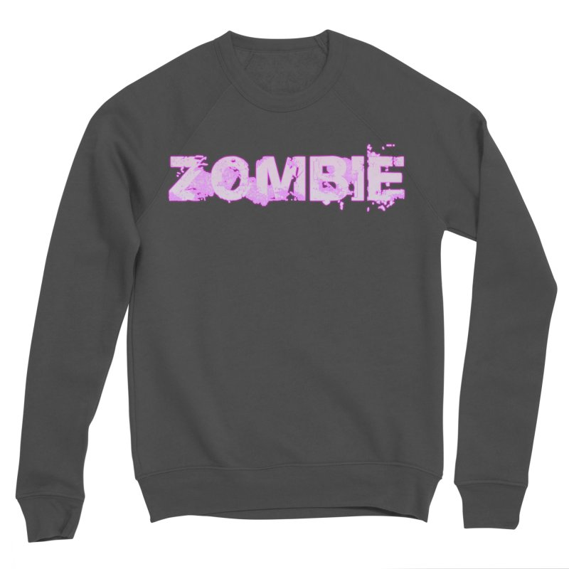 Zombie Type Women's Sponge Fleece Sweatshirt by lil merch