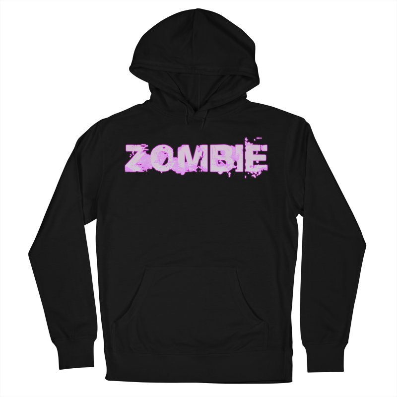 Zombie Type Women's French Terry Pullover Hoody by lil merch