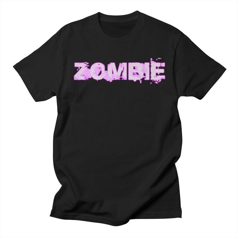 Zombie Type Men's T-Shirt by lil merch