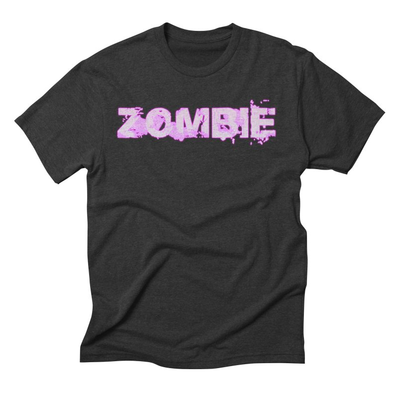 Zombie Type Men's Triblend T-Shirt by lil merch
