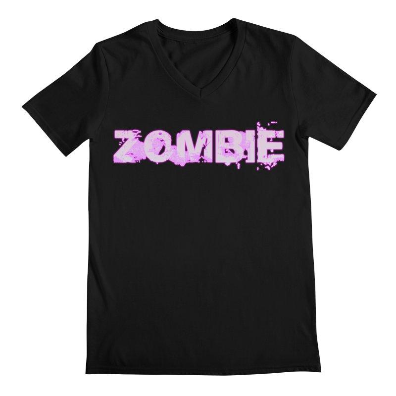 Zombie Type Men's V-Neck by lil merch