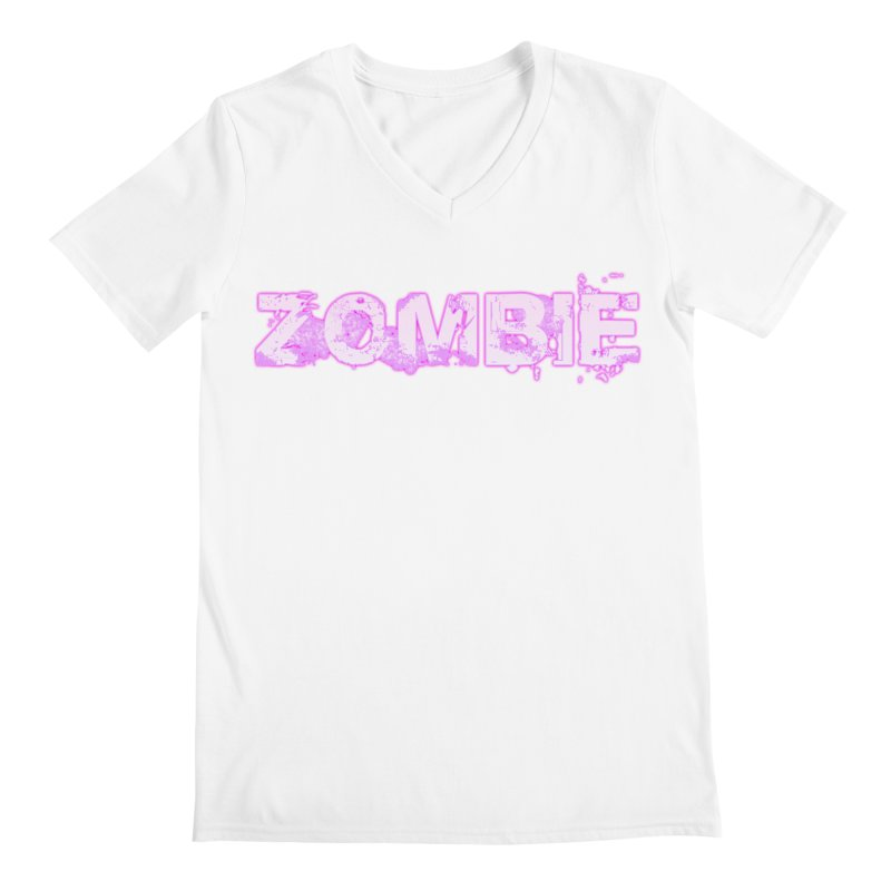 Zombie Type Men's V-Neck by lil merch