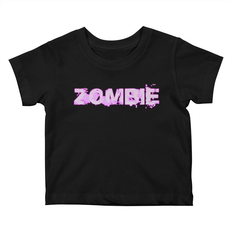 Zombie Type Kids Baby T-Shirt by lil merch