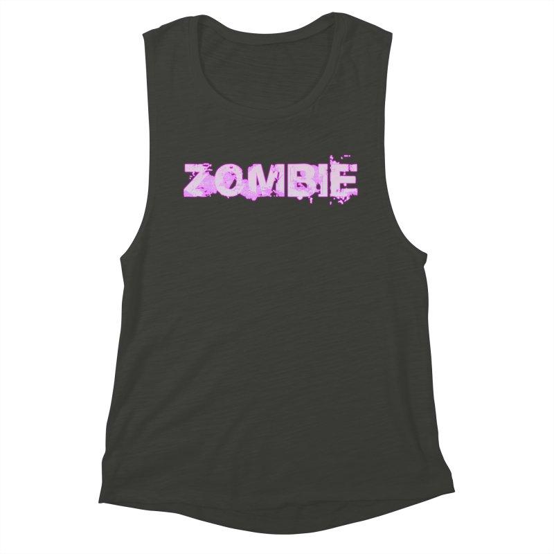 Zombie Type Women's Muscle Tank by lil merch