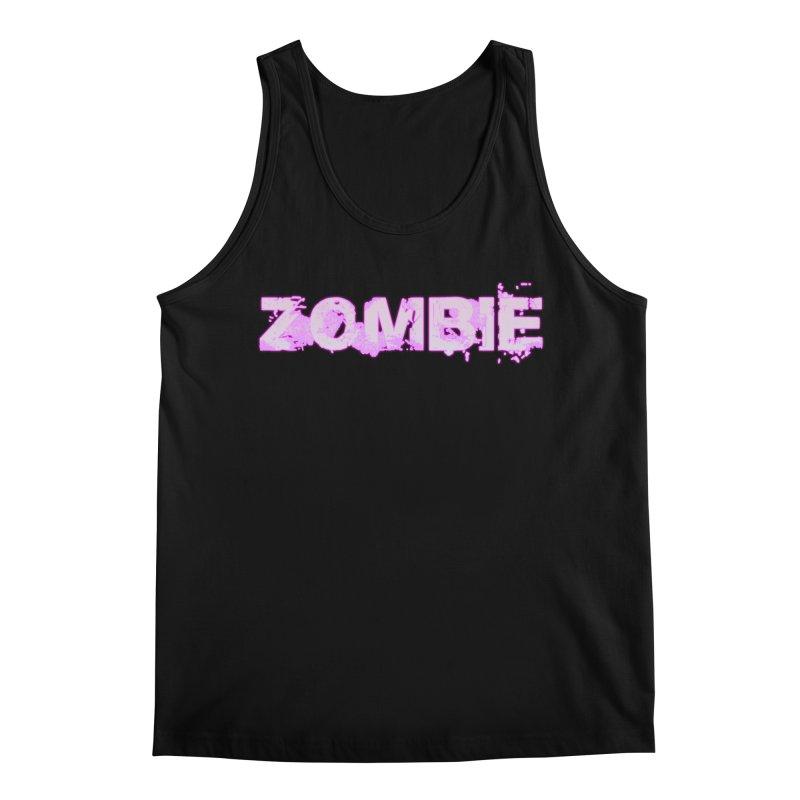 Zombie Type Men's Regular Tank by lil merch