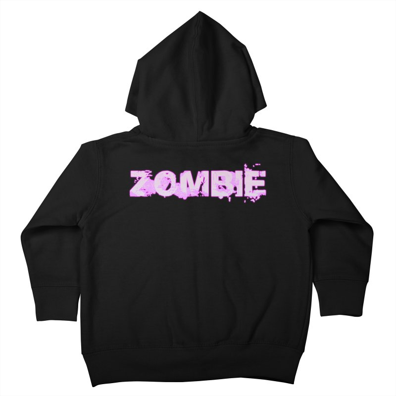 Zombie Type Kids Toddler Zip-Up Hoody by lil merch