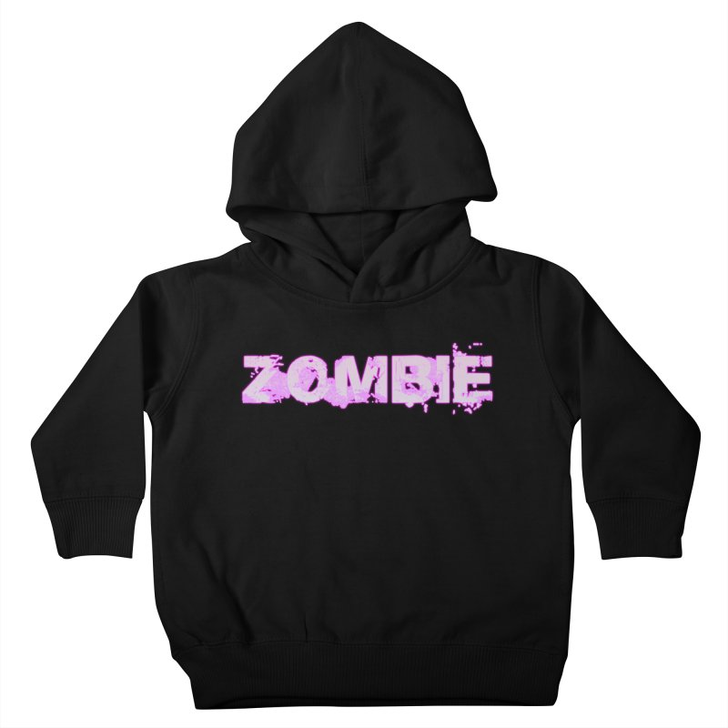 Zombie Type Kids Toddler Pullover Hoody by lil merch