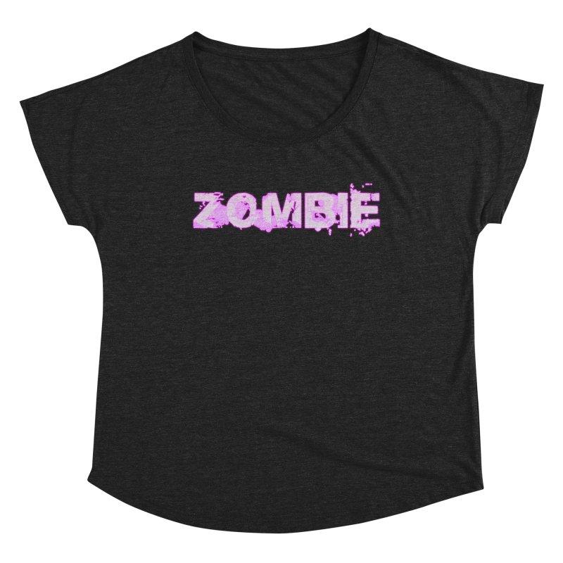 Zombie Type Women's Scoop Neck by lil merch