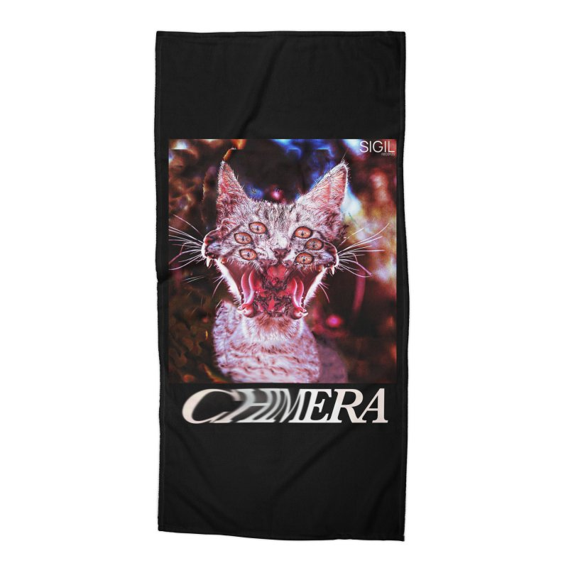 Chimera 1 Accessories Beach Towel by lil merch
