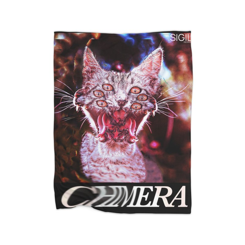 Chimera 1 Home Fleece Blanket Blanket by lil merch