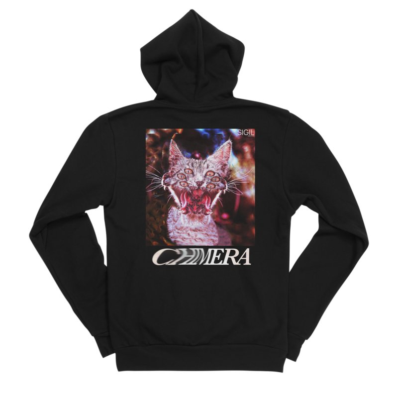 Chimera 1 Men's Sponge Fleece Zip-Up Hoody by lil merch