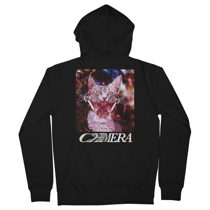 Chimera 1 Men's Zip-Up Hoody by lil merch
