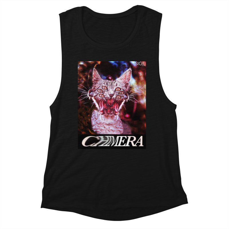 Chimera 1 Women's Muscle Tank by lil merch