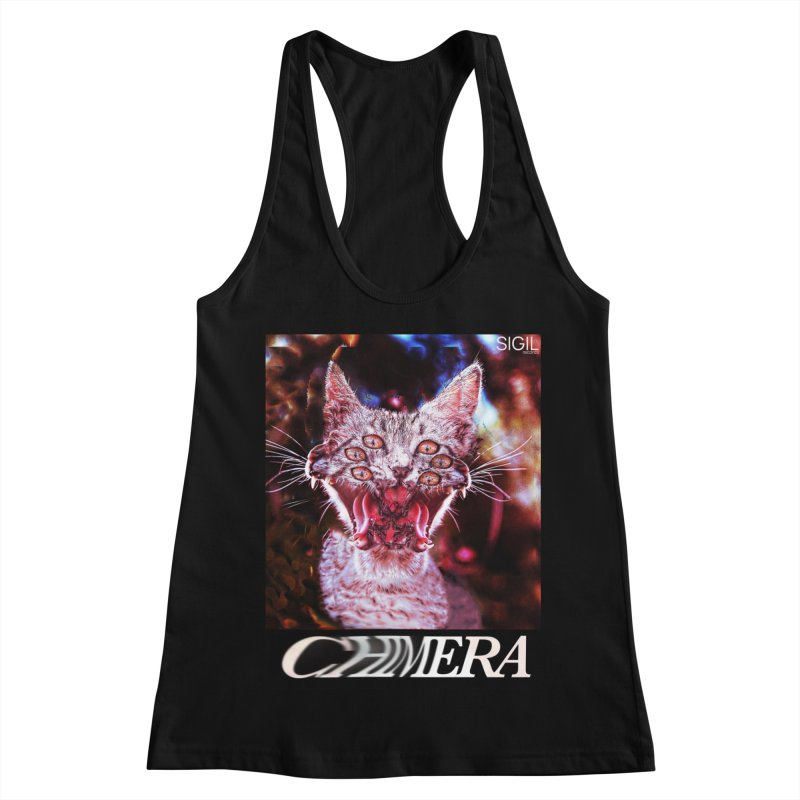 Chimera 1 Women's Racerback Tank by lil merch