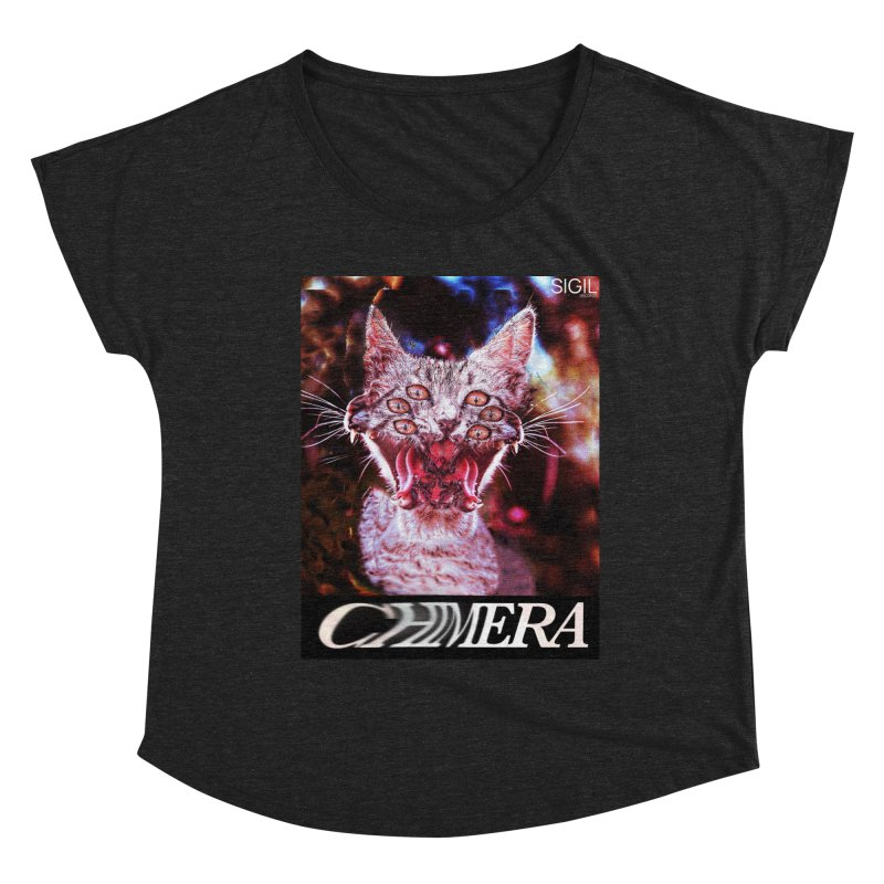 Chimera 1 Women's Scoop Neck by lil merch