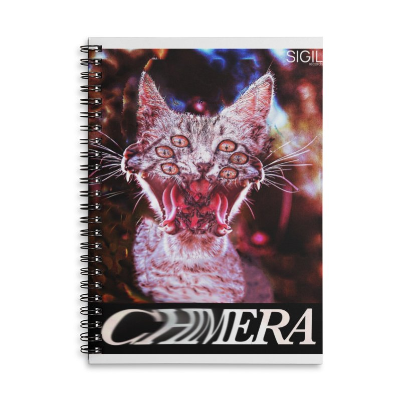 Chimera 1 Accessories Lined Spiral Notebook by lil merch