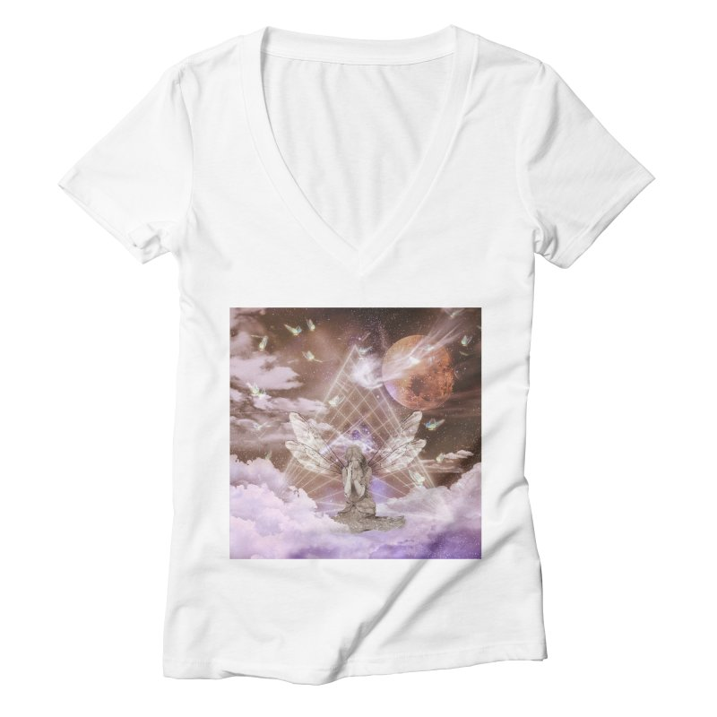 Penance (Art) Women's Deep V-Neck V-Neck by lil merch