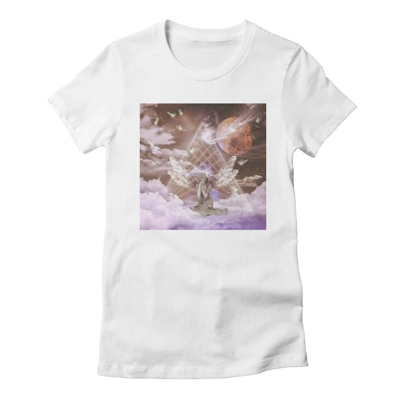 Penance (Art) Women's Fitted T-Shirt by lil merch