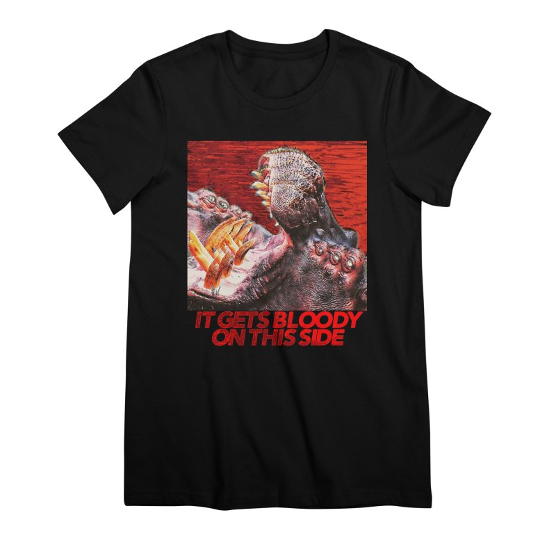 Bloody Women's Premium T-Shirt by lil merch