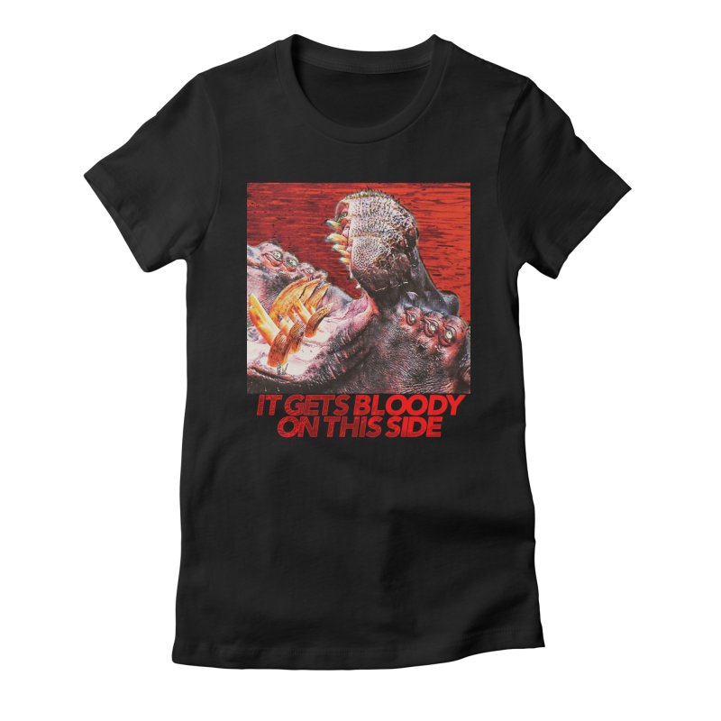 Bloody Women's Fitted T-Shirt by lil merch