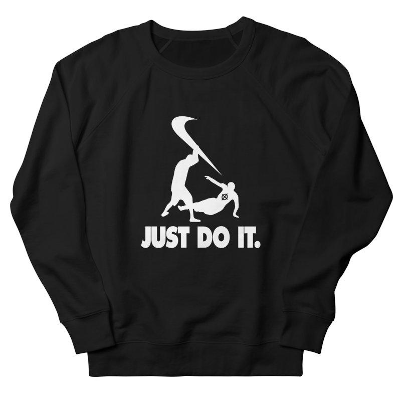 Just Do It (White) –– @frontyython Men's Sweatshirt by lil merch