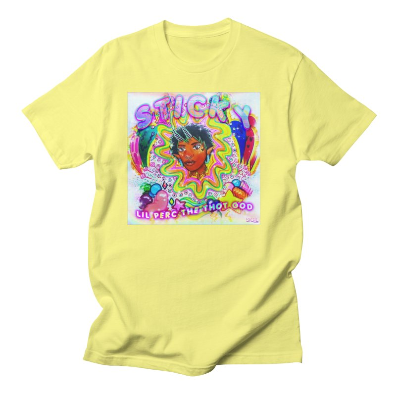 Sticky Cover Men's T-Shirt by lil merch