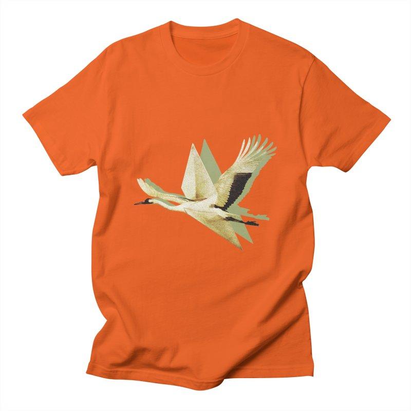 Paper Crane Men's T-Shirt by AlmostGone