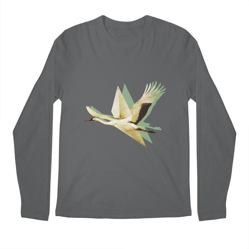 Paper Crane Men's Longsleeve T-Shirt by AlmostGone