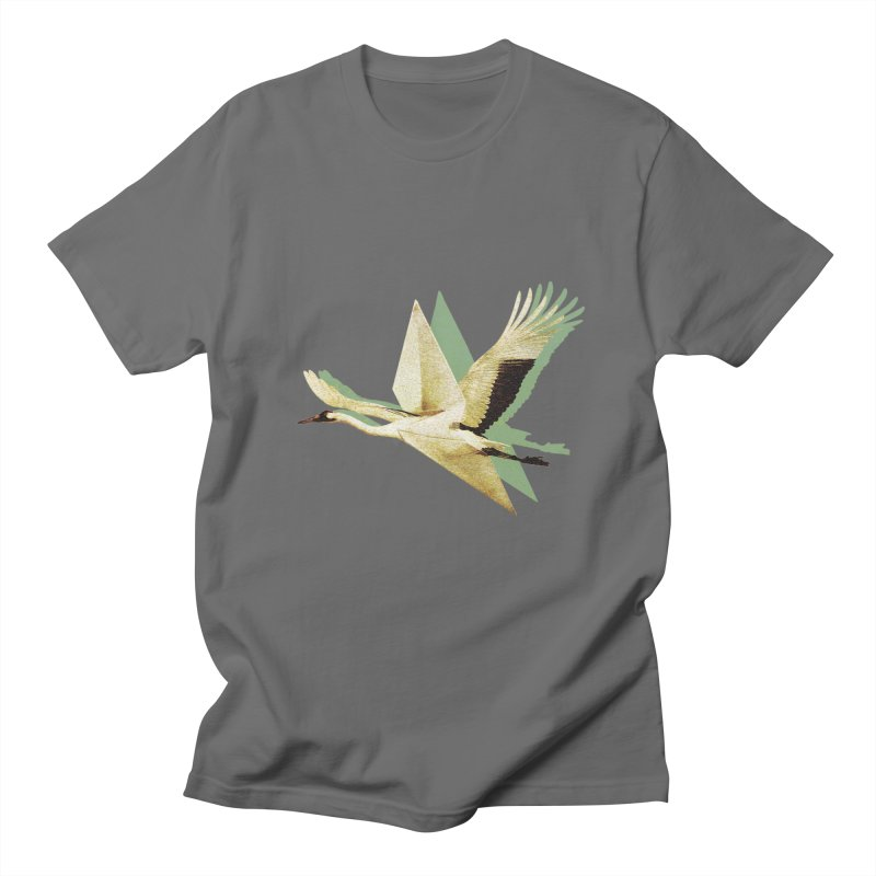 Paper Crane Men's T-Shirt by AlmostGone