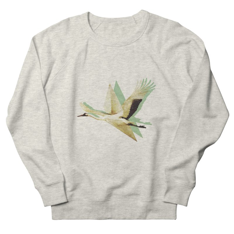 Paper Crane Men's Sweatshirt by AlmostGone